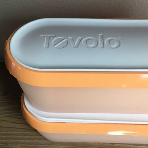 Two Tovolo 1.5 qt. Ice Cream Containers